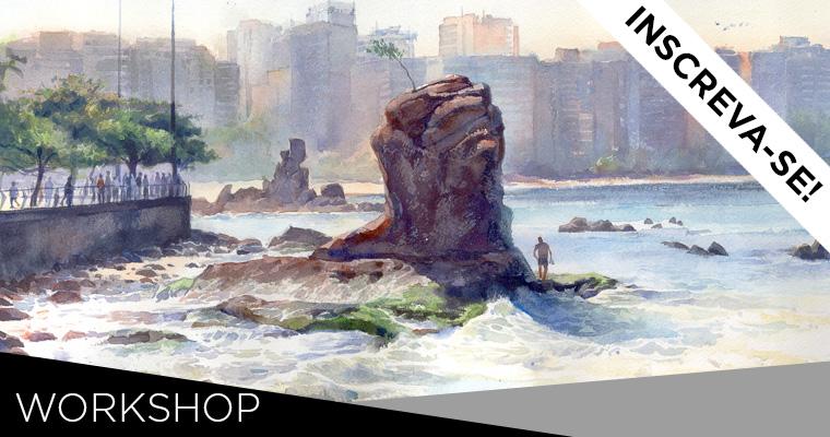 Aquarela | Curso com Renato Alarcão · {28.AGO A 01.SET.2017} RECIFE